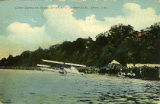 Glenn Curtiss in Hydro-Aeroplane at Summit Lake.