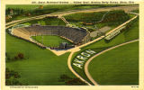 Akron Municipal Stadium - Rubber Bowl, showing Derby Downs, Akron, Ohio