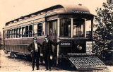 Early Akron Streetcar