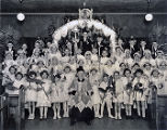 Graduation at St. Hedwig's, 1935