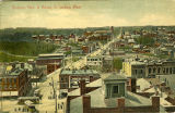 Birdseye View of Akron, O. looking West