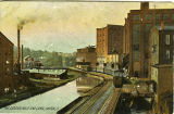 The Cascade Mills and Canal, Akron, Ohio