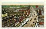 Bird's Eye View of Main Street Looking North, Akron, Ohio