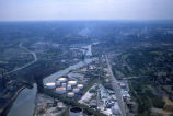 Cuyahoga River in Cleveland, Ohio