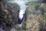 Aerial View of the Cuyahoga Valley Scenic Railway