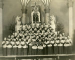 The St. Vincent boy's choir
