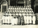 The 1941 St. Vincent High School graduating class
