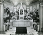 The central alter at St. Vincent Church