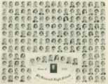 Class photograph from St Vincent High School's graduating class of 1952